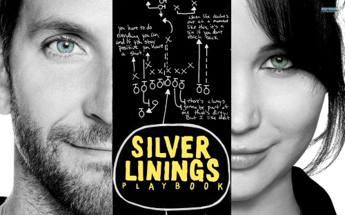 """SILVER LININGS PLAYBOOK"" poster"