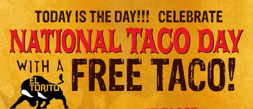 National Taco Day 2013