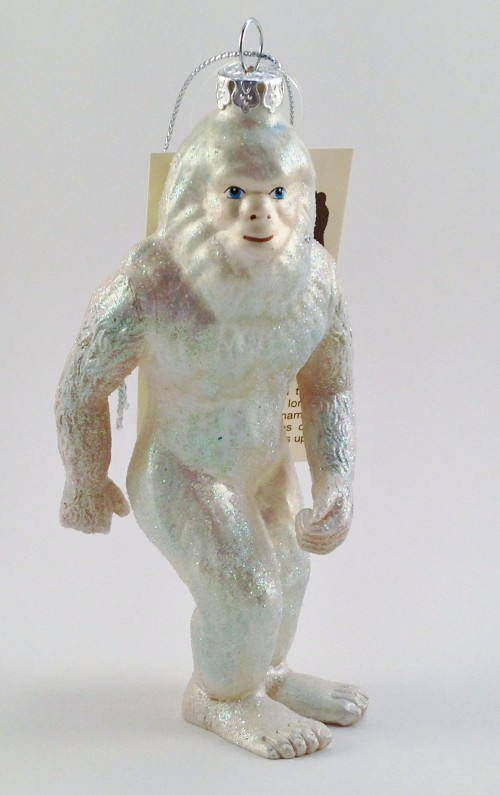 Yeti Christmas Ornament (2013)