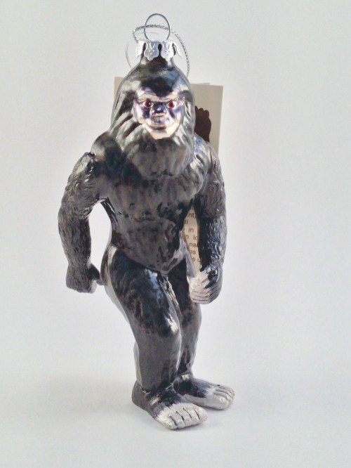 Bigfoot Christmas Ornament (2013)