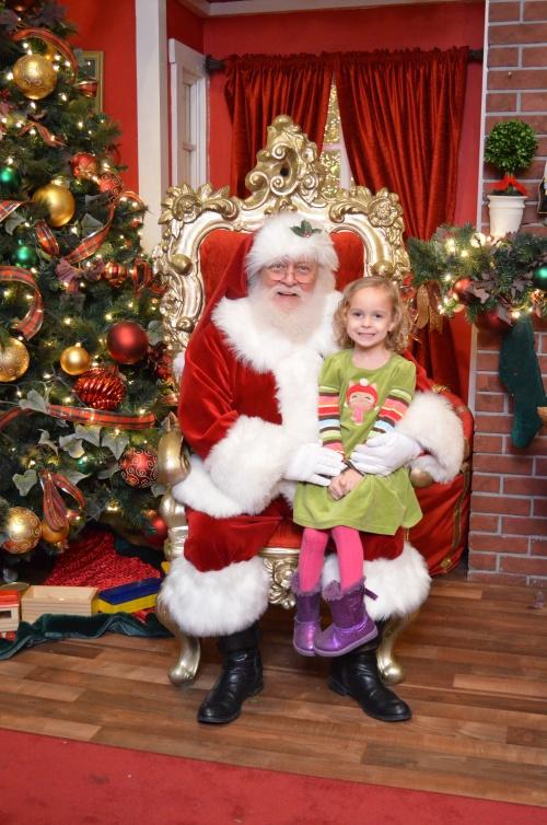 Greta w/Santa (2013)