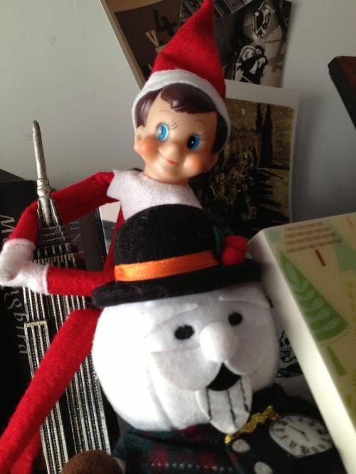 """Our """"Elf on the Shelf"""" Paul (2013)"""