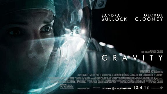 GRAVITY movie poster (2014)