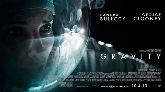 GRAVITY movie poster (2014)