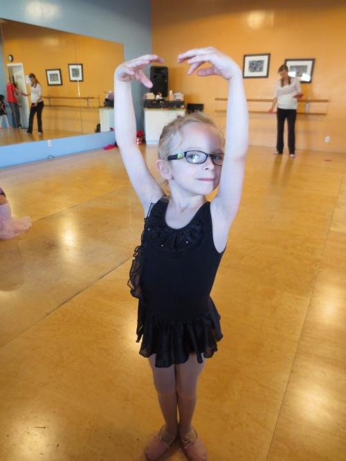 Greta @ ballet class (May 2014)